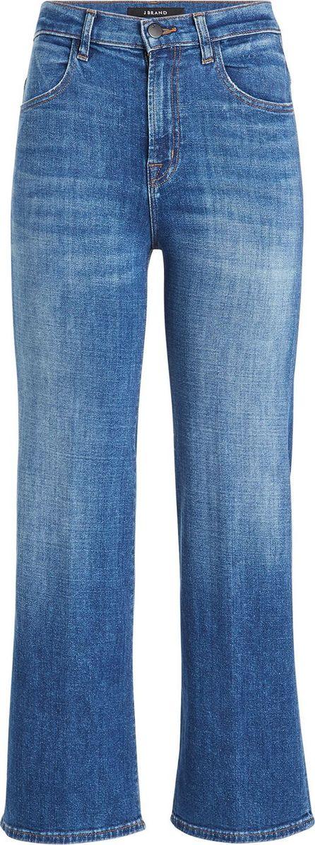 J BRAND Joan High-Rise Cropped Flared Jeans