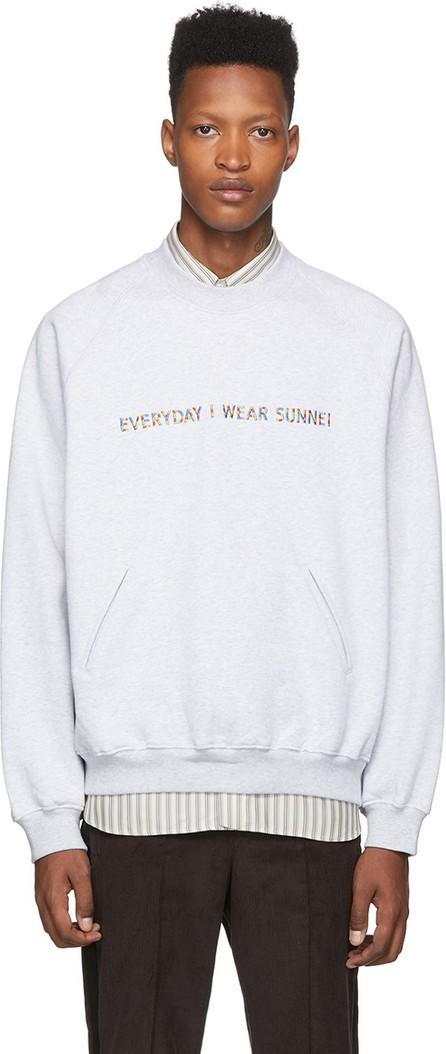 Sunnei Grey 'Everyday I Wear Sunnei' Sweatshirt