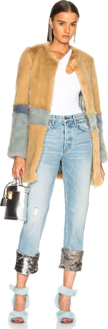 Shrimps Garfunkel Faux Fur Coat