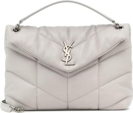 Saint Laurent Loulou Puffer Medium leather shoulder bag
