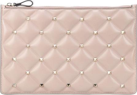 Valentino Valentino Garavani Candystud leather clutch