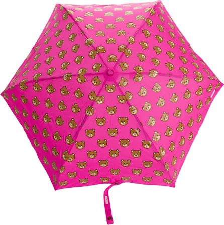 Moschino bear print umbrella