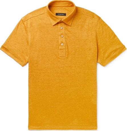 Ermenegildo Zegna Linen Polo Shirt