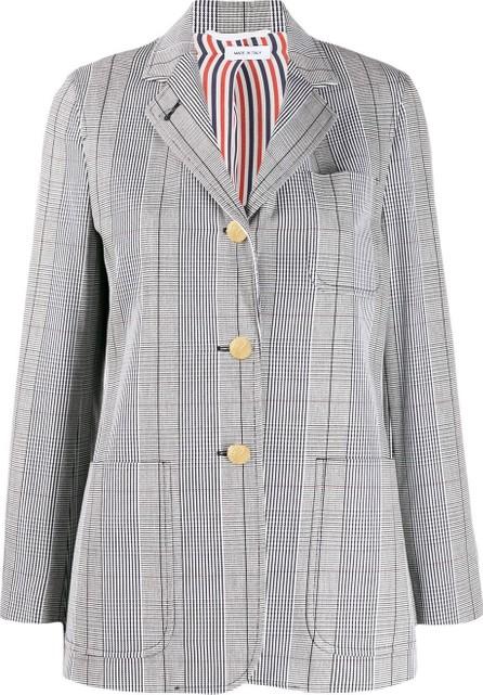 Thom Browne Check print blazer