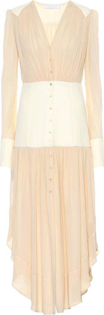 Chloe Silk midi dress