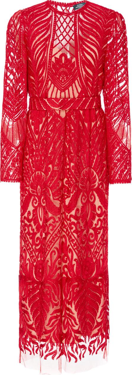 Alena Akhmadullina Embroidered Lace Midi Dress