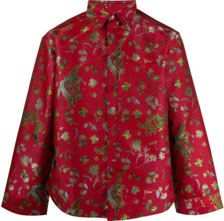 Martine Rose Bird print shirt