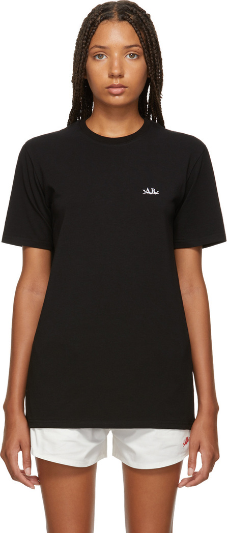 Anton Belinskiy Black Logo Print T-Shirt