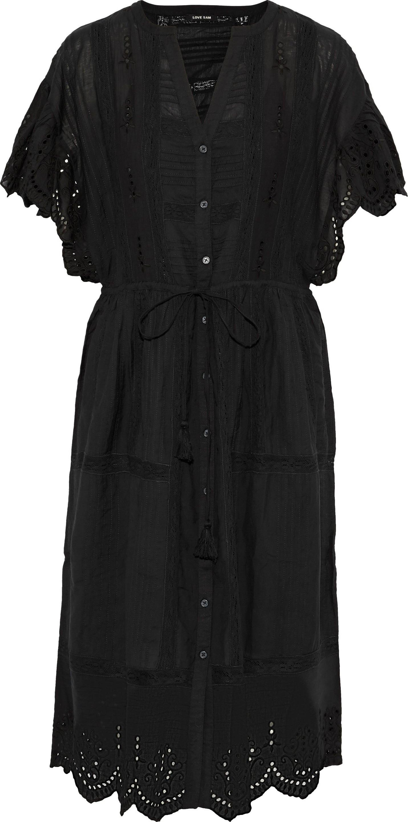 9e84b3cd5f Love Sam Pleated broderie anglaise dress - Mkt