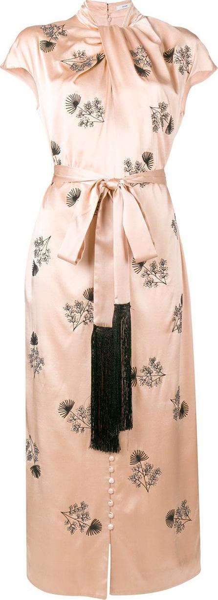 Erdem Long embroidered dress