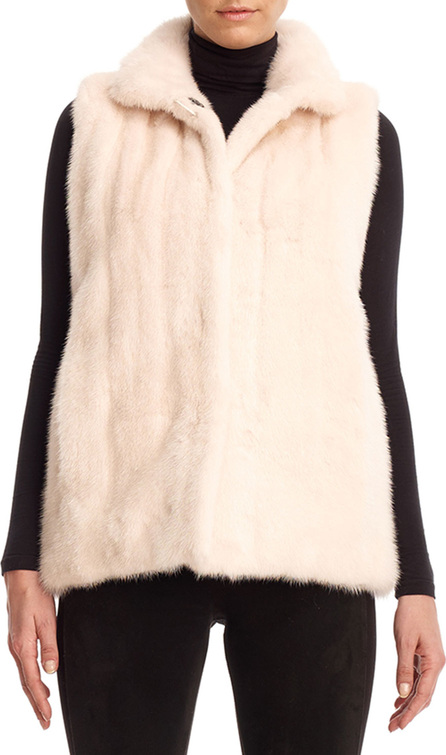Gorski Reversible Mink Fur Down Vest