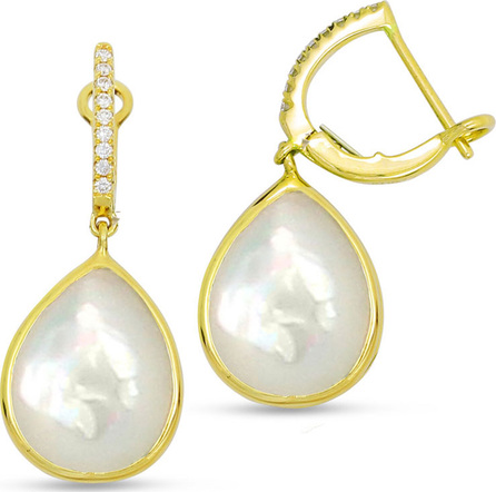 Frederic Sage 18K Mother-of-Pearl Earrings