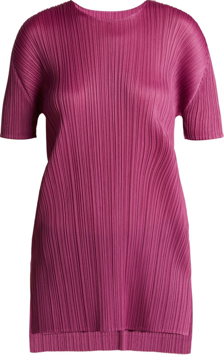 Pleats Please By Issey Miyake Pleated tunic top