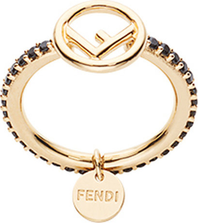 Fendi Embellished ring