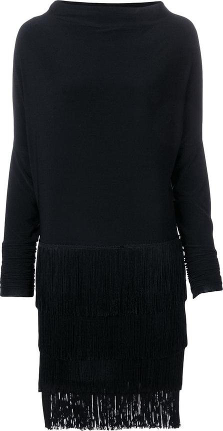 Norma Kamali Fringe skirt dress