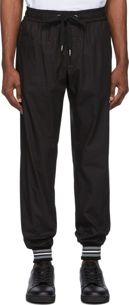 Dolce & Gabbana Black Cotton Lounge Pants