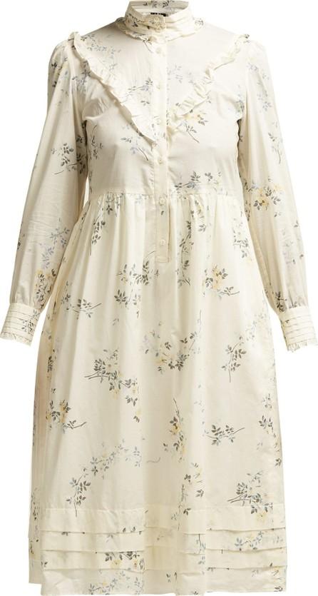 A.P.C. Nicks floral-print ruffled cotton dress