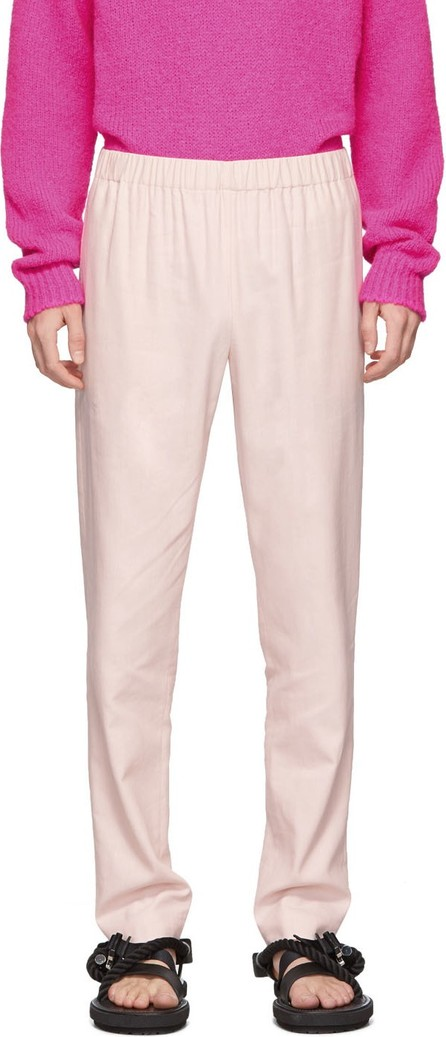 Tibi SSENSE Exclusive Pink Pull On Trousers