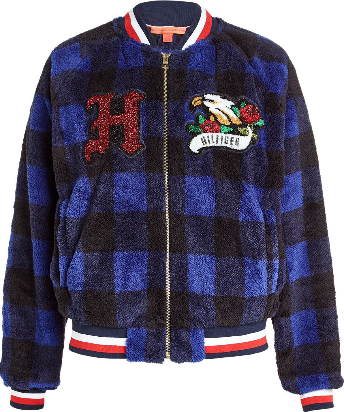 Hilfiger Collection - Bomber Jacket with Appliqués