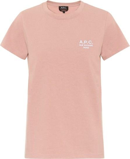 A.P.C. Logo cotton T-shirt