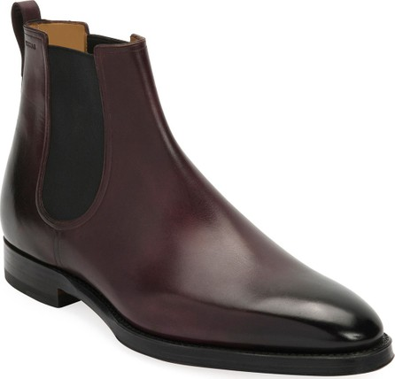 Bally Men's Scarano Goodyear Leather Chelsea Boot