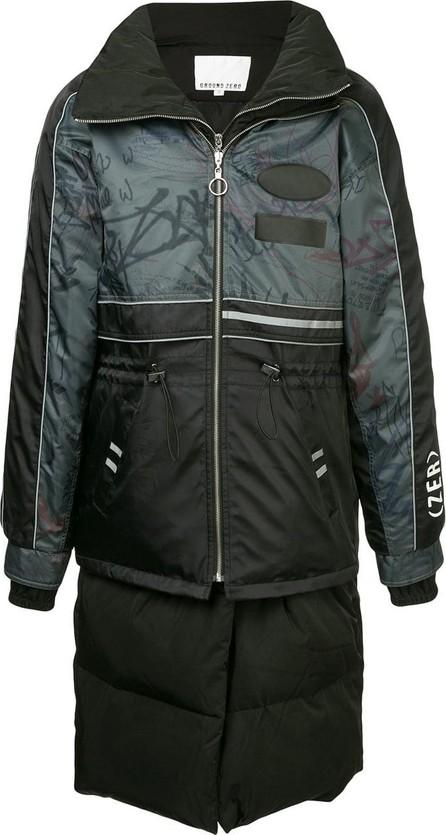 Ground-Zero Zipped padded coat
