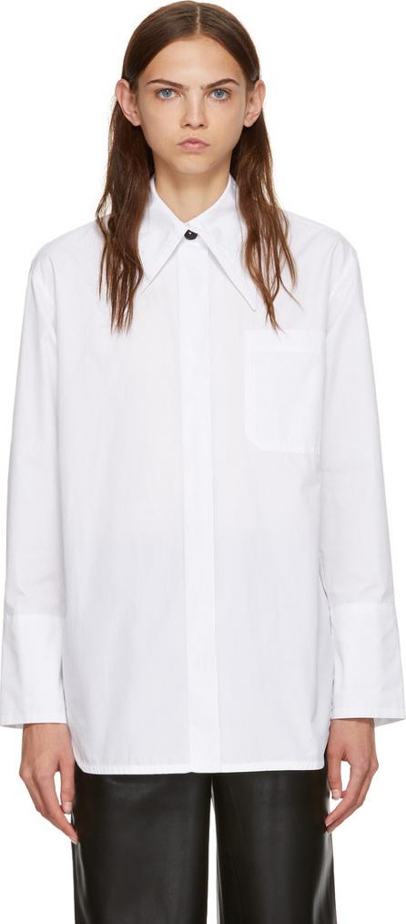 Marni White Cotton Poplin Shirt