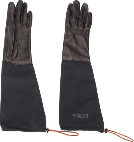Heron Preston Long double material gloves
