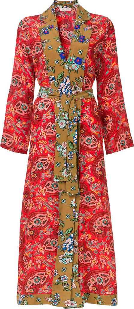 Anjuna Printed kimono dress