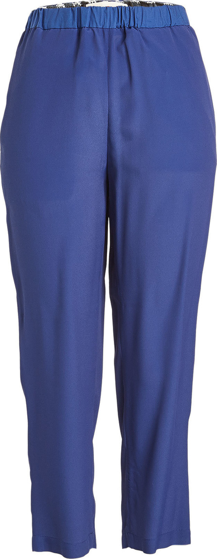 Marni Cropped Pants with Silk and Cotton