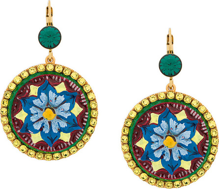 Dolce & Gabbana Majolica drop earrings