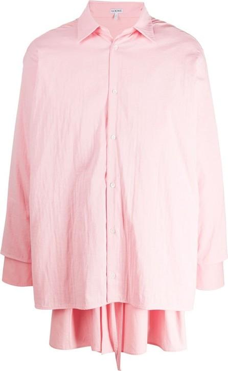 LOEWE Double-layer long-sleeve shirt
