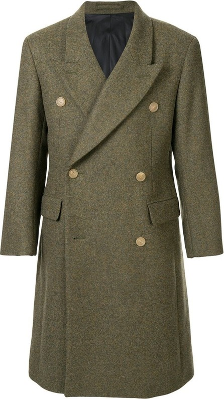 Hed Mayner Tailored double-breasted coat