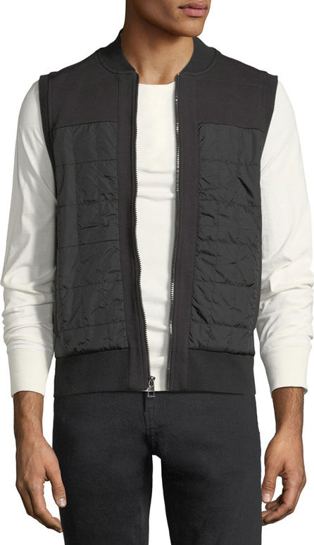 Michael Kors Nomad Quilted Zip-Front Vest