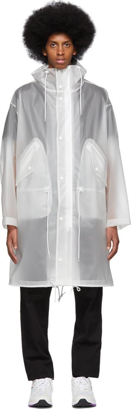 Calvin Klein Jeans Transparent Logo Coat