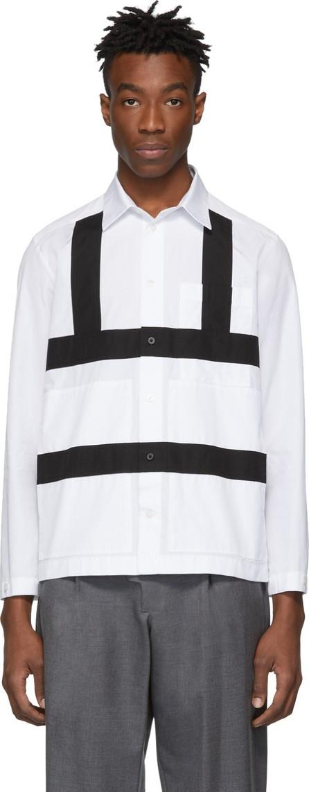Craig Green White & Black Harness Shirt
