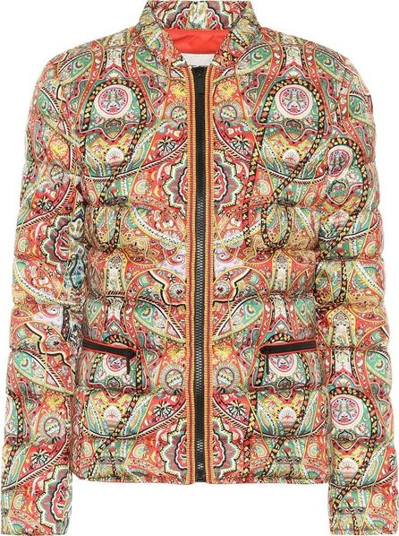 Etro Printed down puffer jacket