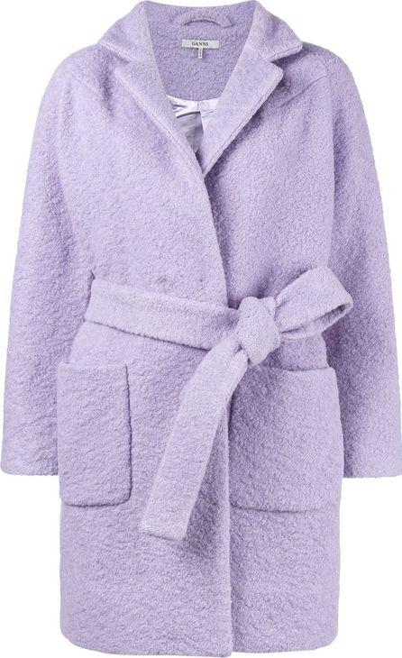 Ganni Fenn textured short coat
