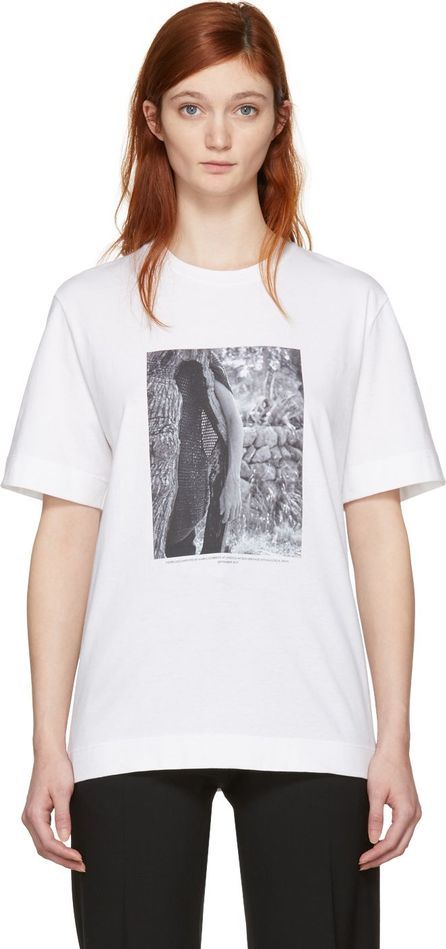 Jil Sander SSENSE Exclusive White Mario Sorrenti Edition 009 T-Shirt