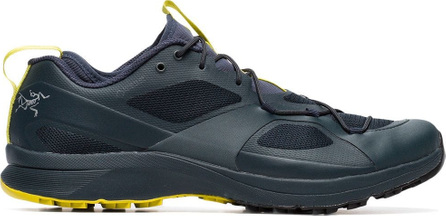 Arc'Teryx Blue and yellow norvan VT GTX sneakers