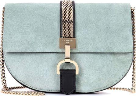 Lanvin Lien Small suede shoulder bag