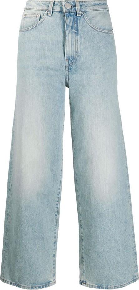 Totême High-rise cropped jeans