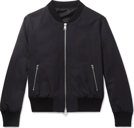 AMI Slim-Fit Wool Bomber Jacket