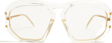 Celine Square-frame acetate glasses
