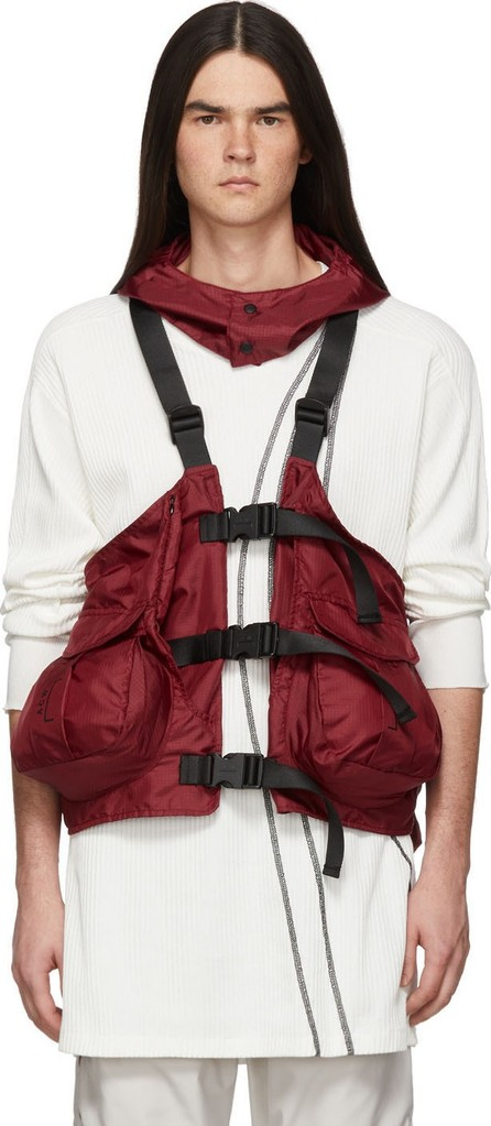 A-Cold-Wall* Red Gilet Backpack Vest