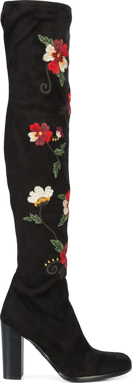 Sam Edelman embroidered knee-length boots