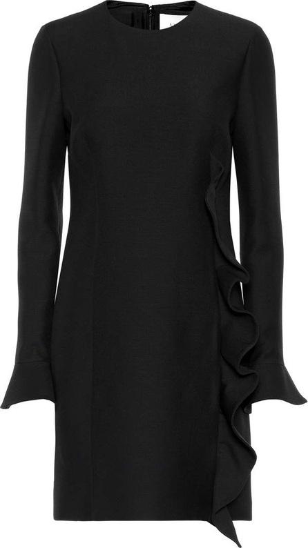 Virgin wool and silk minidress