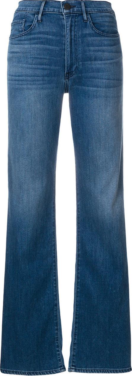3X1 Split leg faded jeans