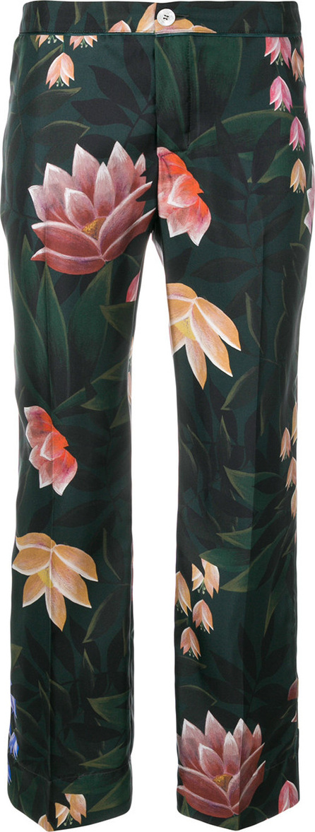 F.R.S For Restless Sleepers Floral print cropped trousers