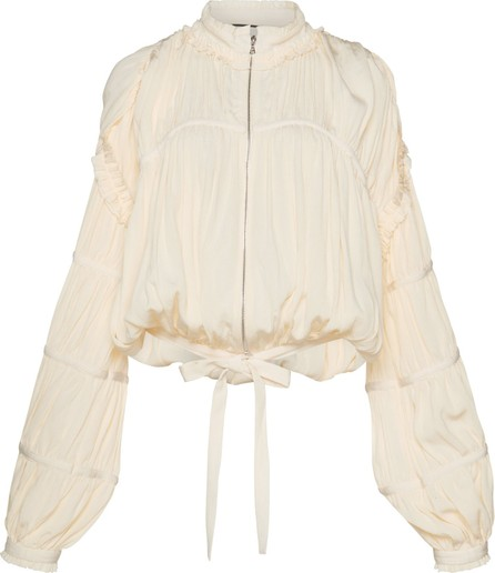 Alexis Posey Zip Front Blouse